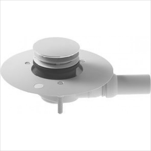 Duravit - Outlet Drain For Flush Fitting Shower Tray Horizontal Outlet
