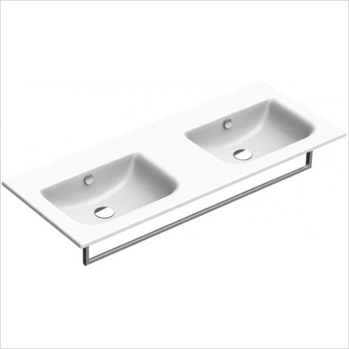 Catalano - Sfera 125 Double Basin 1TH 125 x 50cm