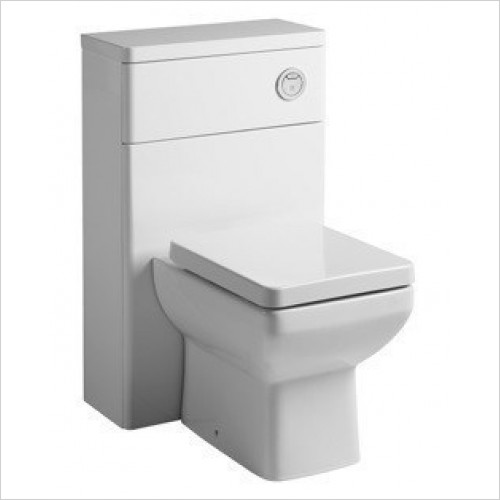 Tavistock Bathrooms - Compass/Q60 Back To Wall Toilet WC Unit & Worktop 560 mm
