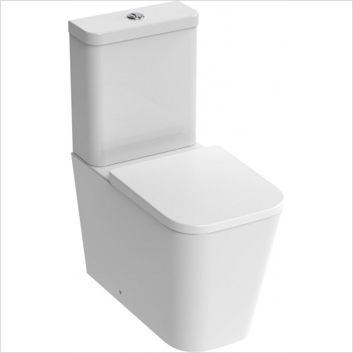 Saneux - Matteo Close Coupled WC Pan Rimless Only