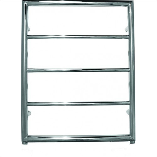 JIS Sussex - Alfriston Cylindrical Electric Towel Rail 650x520mm