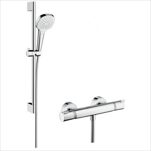 Hansgrohe - Croma Select E Vario Combi Set 650mm
