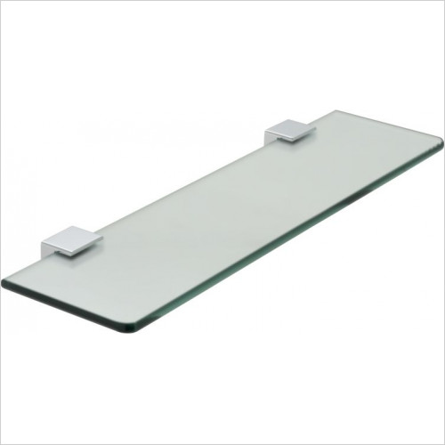 Vado - Phase Frosted Glass Shelf 450mm (18'')