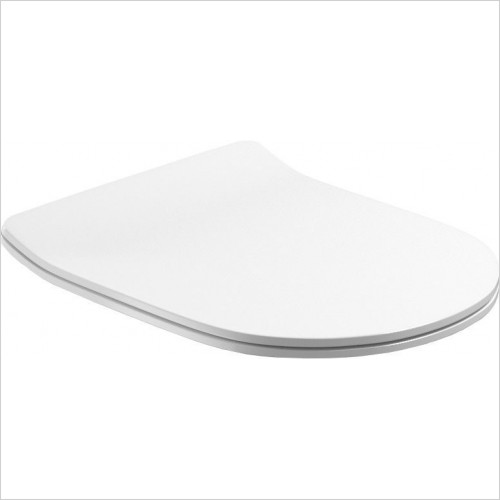 Saneux - Uni Thin Seat - Soft Close (For Uni Wall Hung Pan Only)