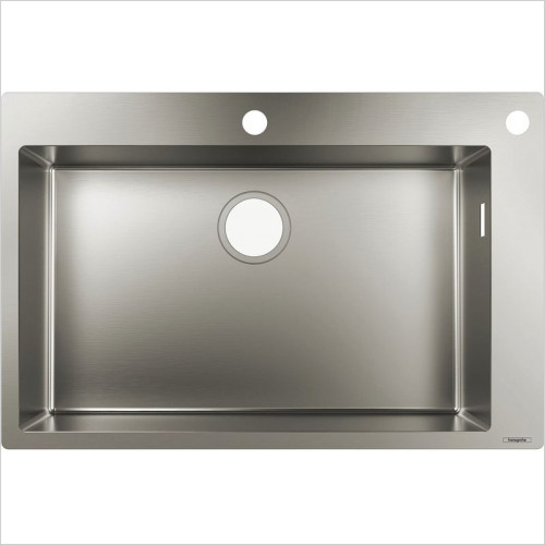 Hansgrohe - S712-F660 Built-In Sink 660
