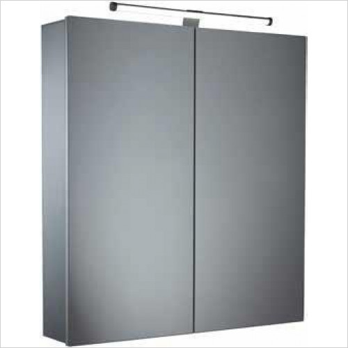 Tavistock Bathrooms - Conduct Double Door Cabinet With LED