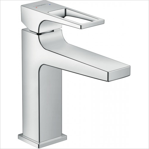Hansgrohe - Metropol Single Lever Basin Mixer 110 With Push-Open Waste
