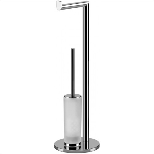 Gessi - Emporio Standing Set With Paper Roll Holder & Brush Holder