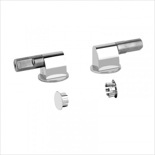 Gessi - Rilievo Soft-Closing Hardware & Lateral Holes Plugs