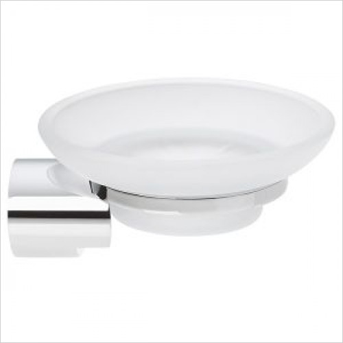 Violek - Round Soap Dish Holder, Wall Mounted