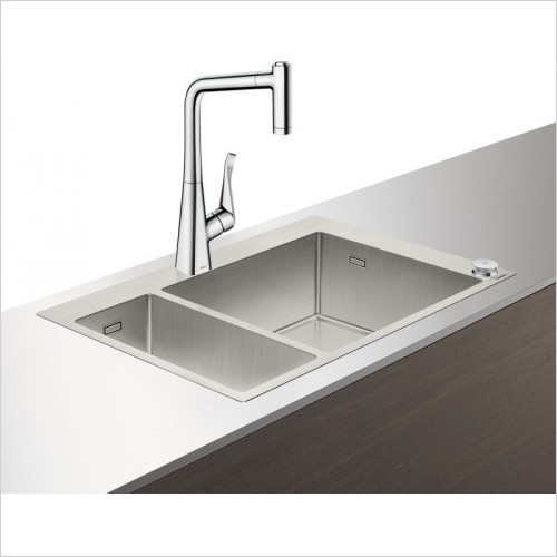 Hansgrohe - C71-F655-04 Select Sink Combination 180 x 450mm