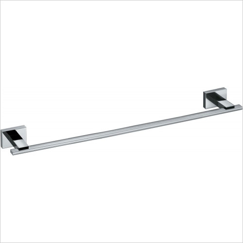 Vado - Level Towel Rail 650mm (26'') Wall Mounted