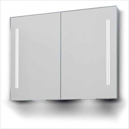 Bathroom Origins - Space II Cabinet Double Door - 700x700mm