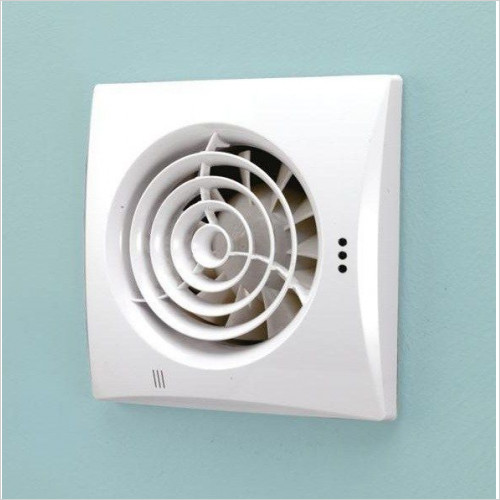 HIB - Hush TH Fan 15.8 x 15.8 x 3cm