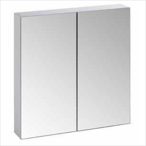 Tavistock Bathrooms - Observe Double Door Cabinet 600 x 650mm