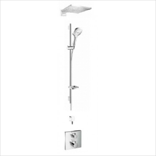 Hansgrohe - Raindance Ecostat E 2Way Shower Wall Mounted