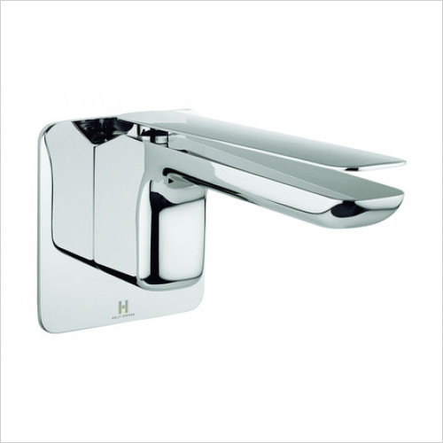 Crosswater - Zero Two Wall Mounted Basin 2 Hole Set Without Waste