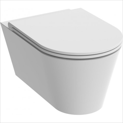 Saneux - Icon-R Round WC Pan - Wall Hung