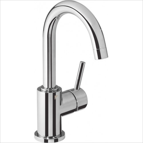 Roper Rhodes - Storm Side Action Basin Mixer With Click Waste