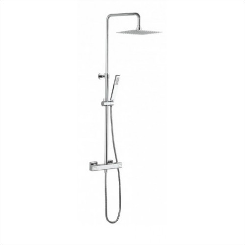 Crosswater - Atoll Square Exposed Thermostatic Shower Valve