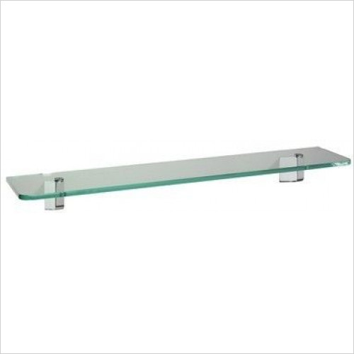 Bathroom Origins - Sonia S3 Glass Shelf 50cm