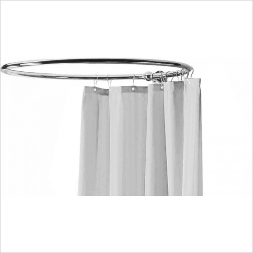 Hudson Reed - Round Shower Ring Curtain Not Supplied