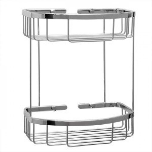 Violek - Rectangular Basket With Two Tiers