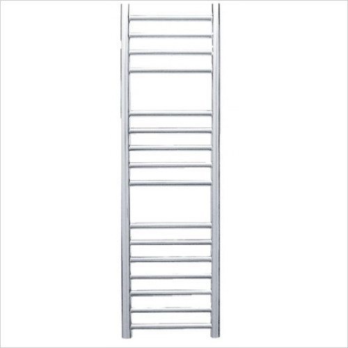 JIS Sussex - Steyning Adj Electric Flat Fronted Towel Rail 1000x300mm