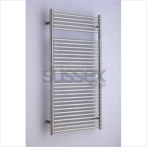 JIS Sussex - Ansty Cylindrical Electric Towel Rail 1190x600mm