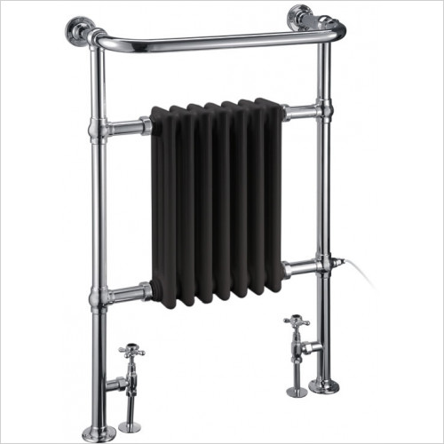 Burlington - Trafalgar Towel Airer With Radiator Panel