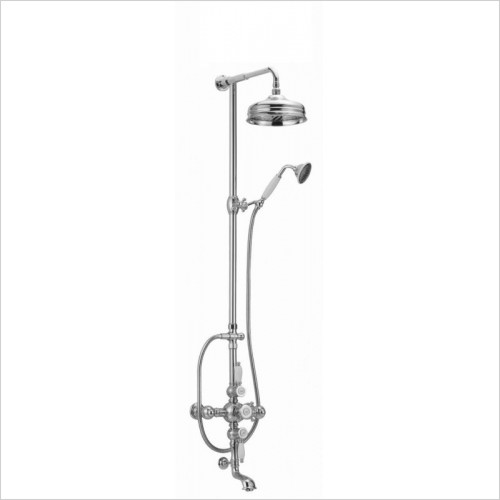 Cifial - Traditional Exposed Thermostatic Bath Shower Mixer