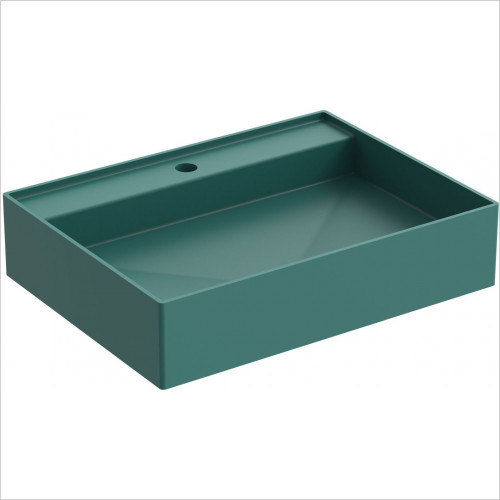 Saneux - Icon 60 x 45cm Vessel Basin 1TH - Sit On Only