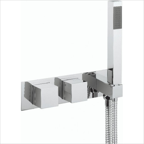 Crosswater - Water Square Thermostatic Shower Valve