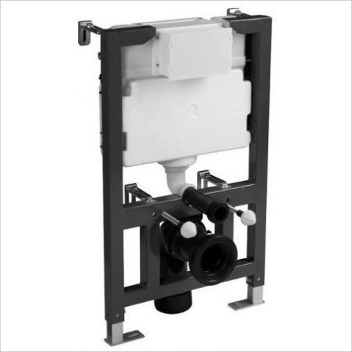 Tavistock - Furniture 0.82m Wall Hung Frame - 6/3l Exc Flush Plate