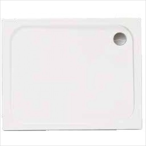 Merlyn - Touchstone Rectangular Shower Tray 900 x 760mm