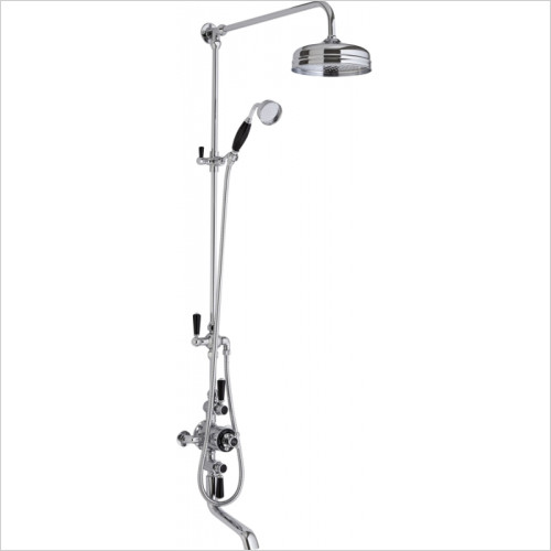 Hudson Reed - Triple Exposed Shower Valve & Spout