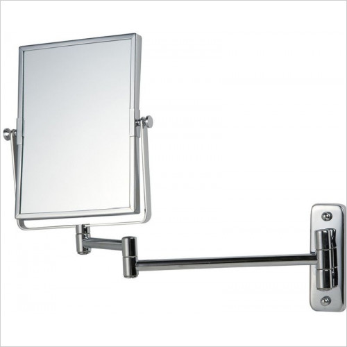Bathroom Origins - Reversible Square Frame Mag Wall Mirror