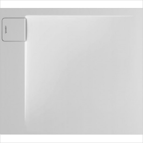Duravit - P3 Comforts Shower Tray 900x800mm Rectangle Corner Left