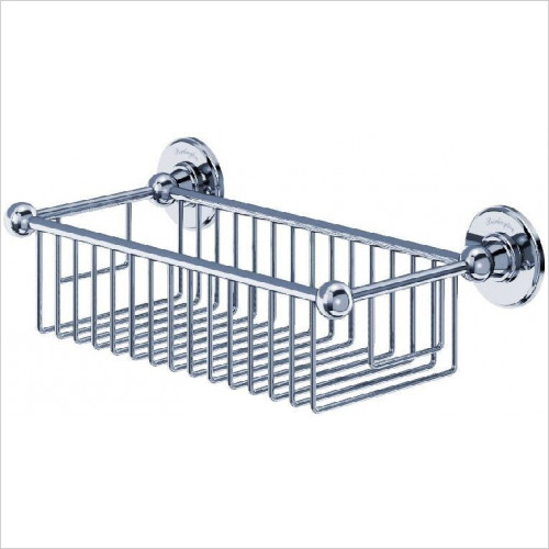 Burlington - Deep Wire Rectangular Basket 62mm Deep & 155 x 330mm