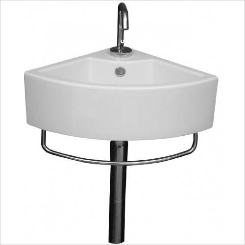 Saneux - Quadro Corner Washbasin Only
