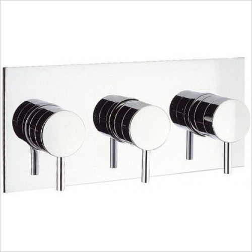 Crosswater - Kai Lever Thermostatic Shower Valve With 3 Way Diverter
