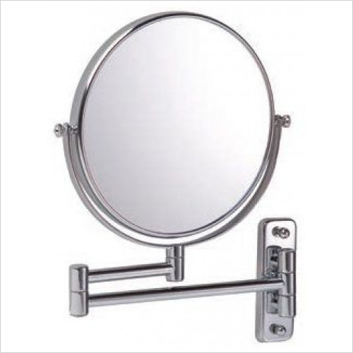 Bathroom Origins - Reversible 10x Mag Wall Mirror