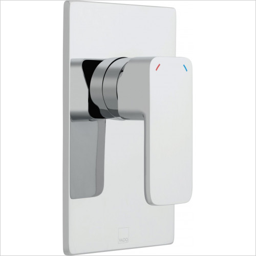 Vado - Phase Concealed Manual Valve Single Lever