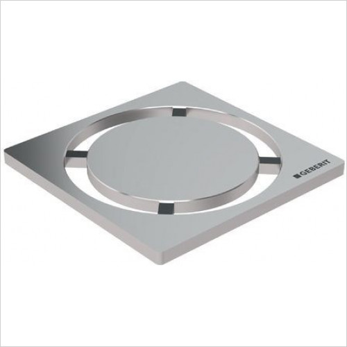 Geberit - Design Grating ''Circle'', 8 x 8cm