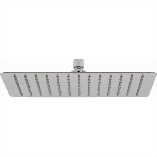 Vado - Aquablade Slimline Rect Shower Head, 300 x 200mm (12 x 8'')