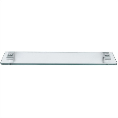 Bathroom Origins - Sonia Eletech Glass Shelf 53cm