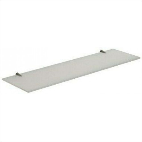 Bathroom Origins - Gedy Artemis Glass Shelf 60cm