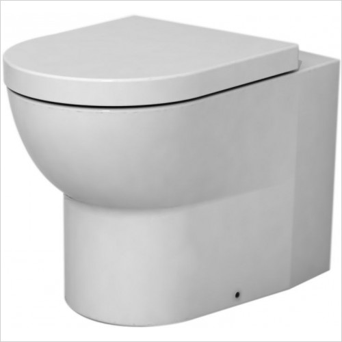 Cifial - Block Back To Wall Pan Including Soft Close Seat