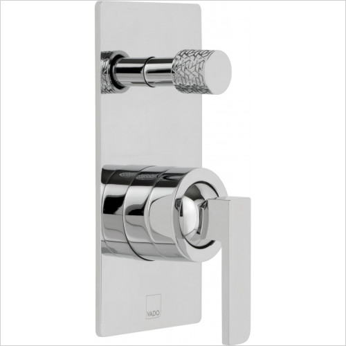 Vado - Omika Concealed Single Lever Wall Mounted Manual