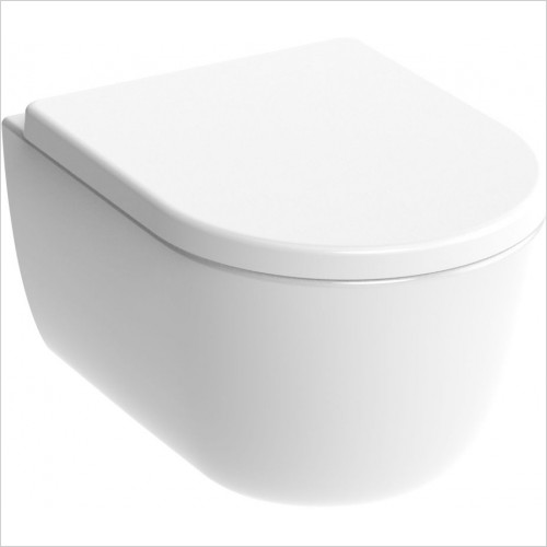 Saneux - Austen Wall Mounted WC Pan Rimless